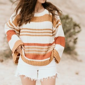 Chenille Sunshine Sweater